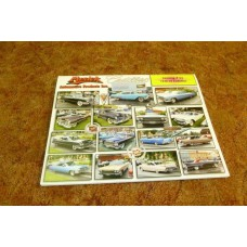 Katalog med nytillverkade delar Cadillac 1949-76, 75 sidor med nya delar