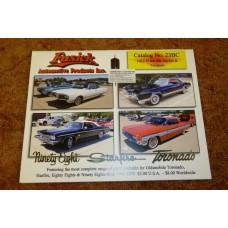 Katalog nya delar Oldsmobile 1961-75, 88/98/Starfire/Jetstar/Toronado
